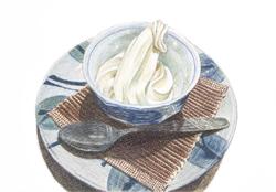 Soba ice cream