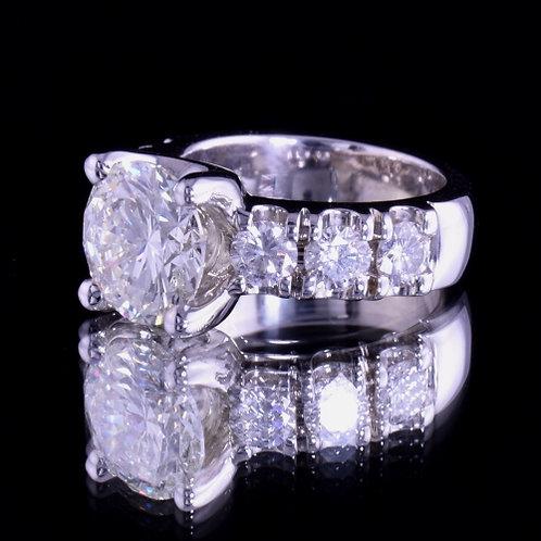 4.05 Carat Diamond Engagement Ring