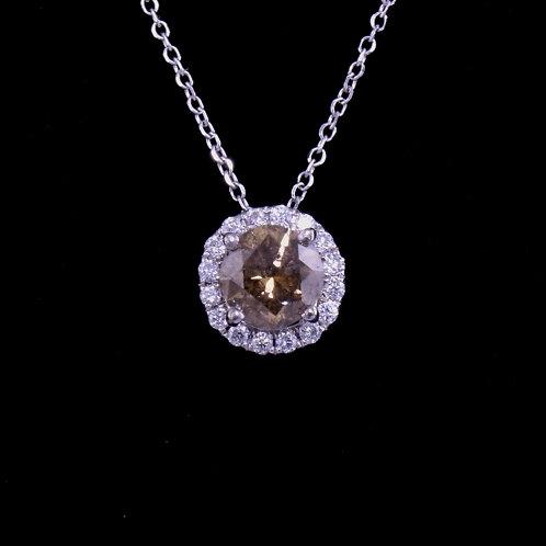 0.9 Carat Diamond Pendant