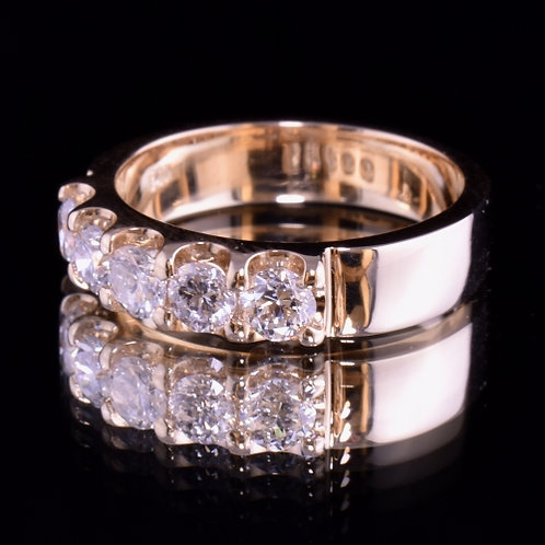 .93 Carat Diamond Engagement Band
