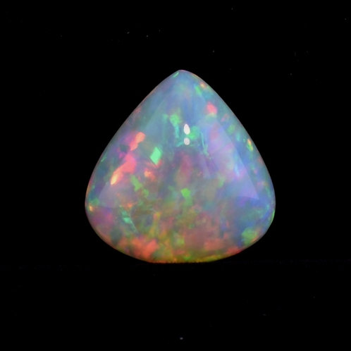 12.93 Carat Pear Shaped Opal