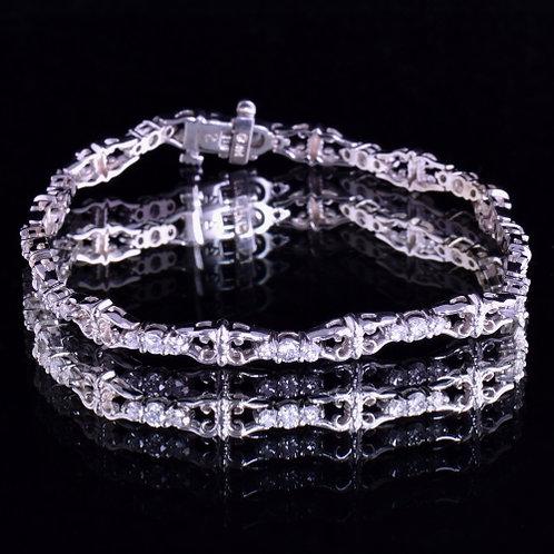 1.61 Carat Diamond Bracelet