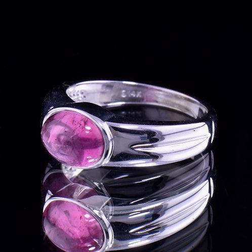 1.86 Carat Pink Tourmaline Ring