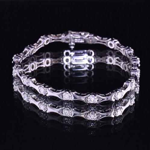 1.70 Carat Diamond Bracelet