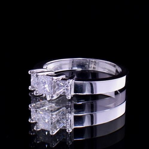0.69 Carat Diamond Engagement Ring