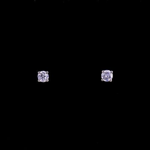 0.24 Carat Total Weight Diamond Stud Earrings