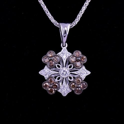 0.61 Carat Diamond Pendant