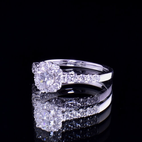 0.49 Carat Diamond Engagement Ring