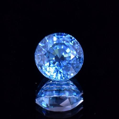 5.08 Carat Blue Zircon