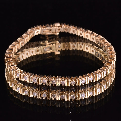 2.03Carat Diamond Bracelet