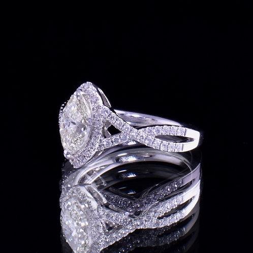 1.28 Carat Diamond Engagement Ring
