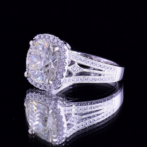 3.80 Carat Diamond Engagement Ring