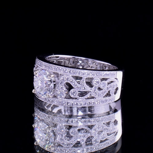 1.08 Carat Diamond Engagement Ring