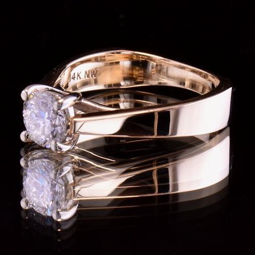 .84 Carat Diamond Engagement Ring
