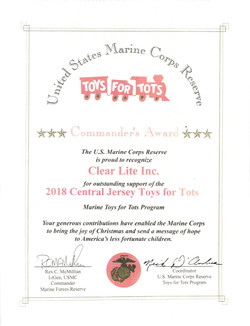 Toys for Tots - 2018 - CL