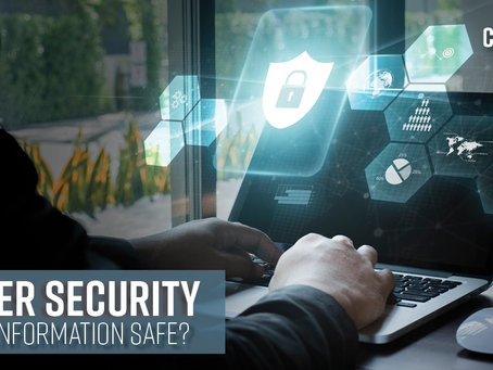 Cyber Security - Is My Data Safe?