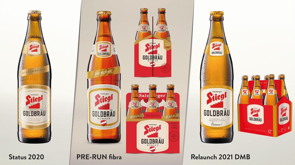 Stiegl Packaging Redesign Prerun | fibra 12