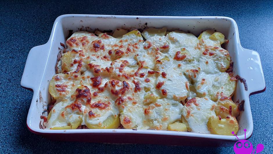 Kartoffel-Hack-Lasagne (2 Portionen)