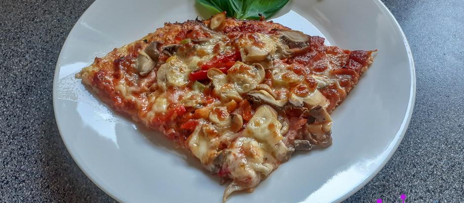 Low-Carb-Pizza / Blumenkohl-Pizza     (4 Portionen)