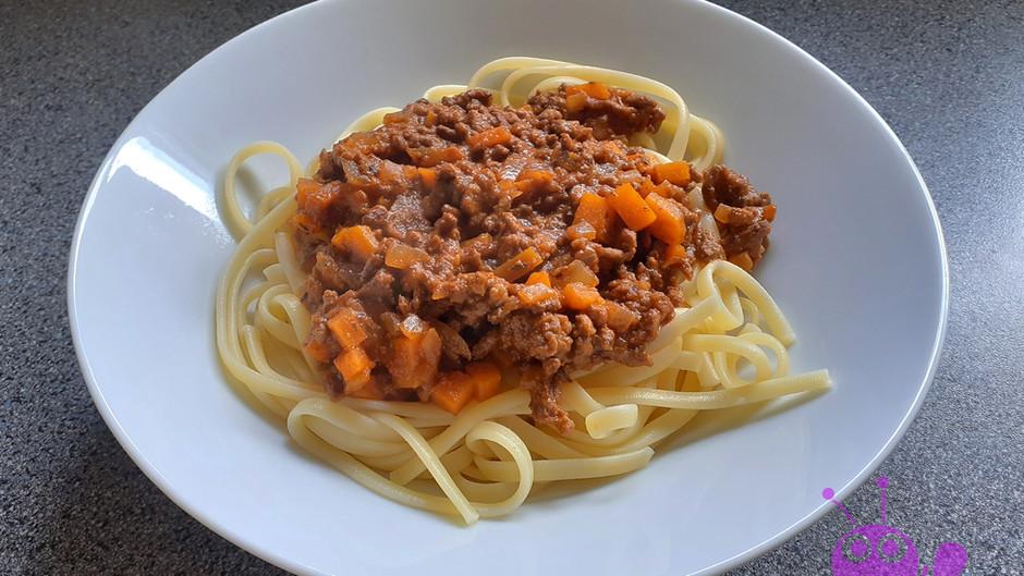 Spaghetti Bolognese (4 Portionen)
