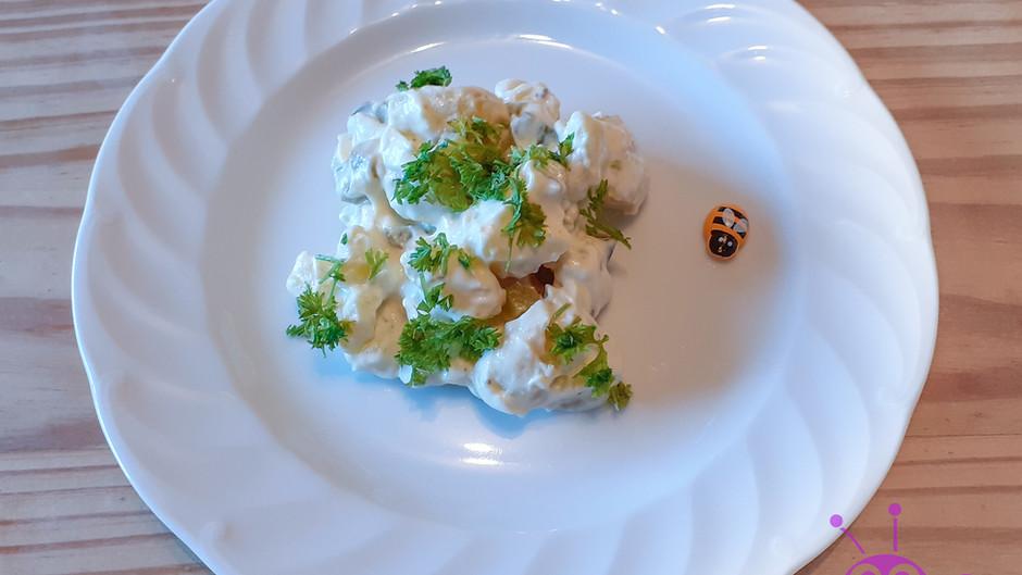 Kartoffelsalat mit Mayonnaise (1 Portion)
