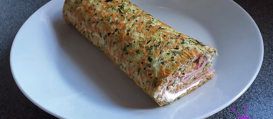 Zucchini-Karotten-Rolle (2 Portionen)