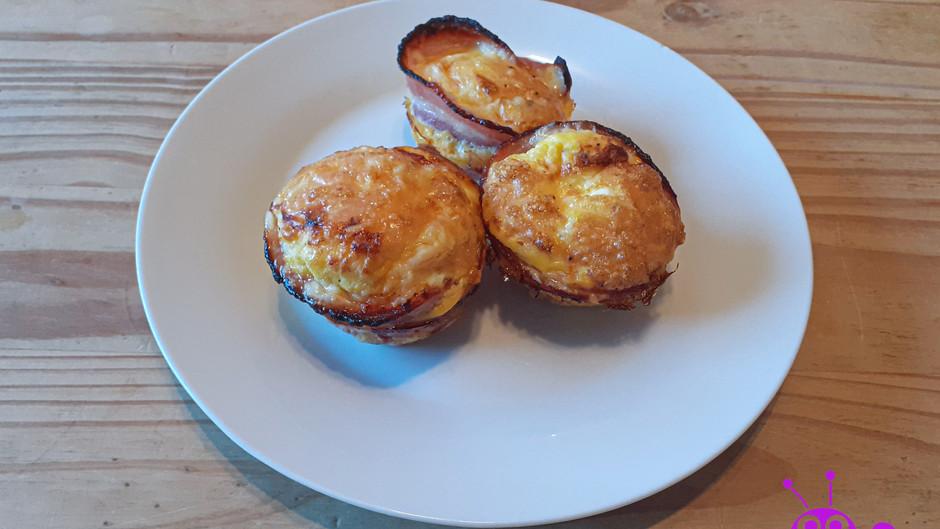 Frühstücks-Muffins (6 Stück)