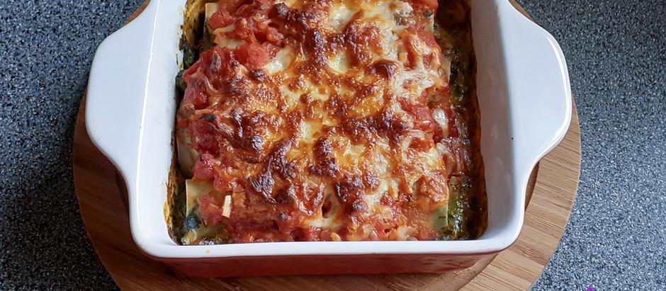 Spinat-Cannelloni (2 Portionen)