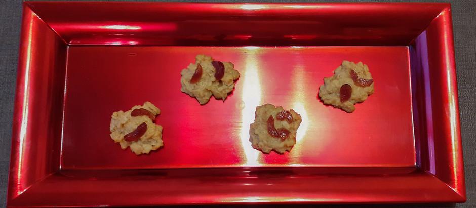 Haferflocken-Kekse (ca. 25 Stück)