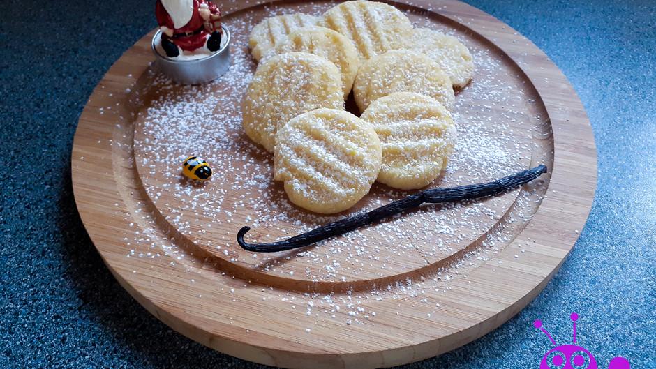Puddingplätzchen (ca. 30 Stück)