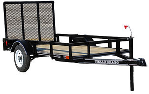 4'x8' Little Bragg Utility Trailer