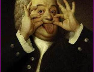 Playing Bach in the Nude