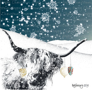 Welsh Christmas card Carden Nadolig Cymraeg