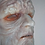 Palpatine silicone mask detail