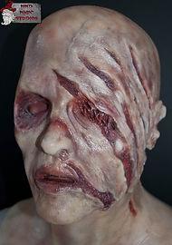 Klawdeen Female Zombie Silicone Mask