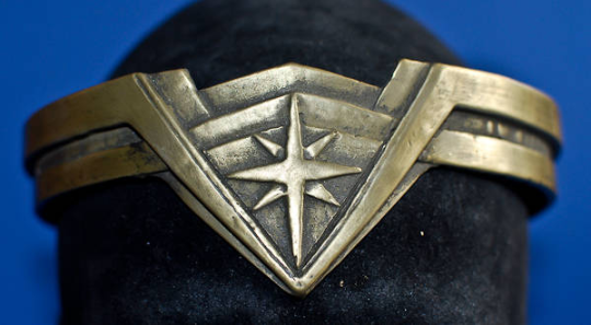 Wonder Woman tiara close up