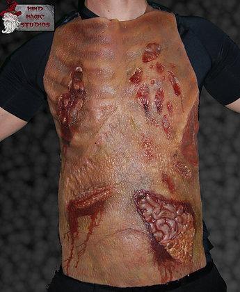 Zombie Gore silicone half body suit