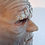 Palpatine silicone mask  side view
