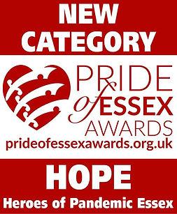 Pride of Essex Hope Award logo