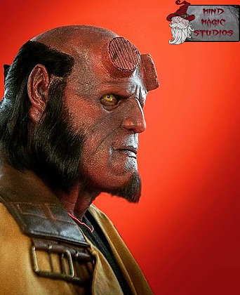 Hellboy Silicone Mask