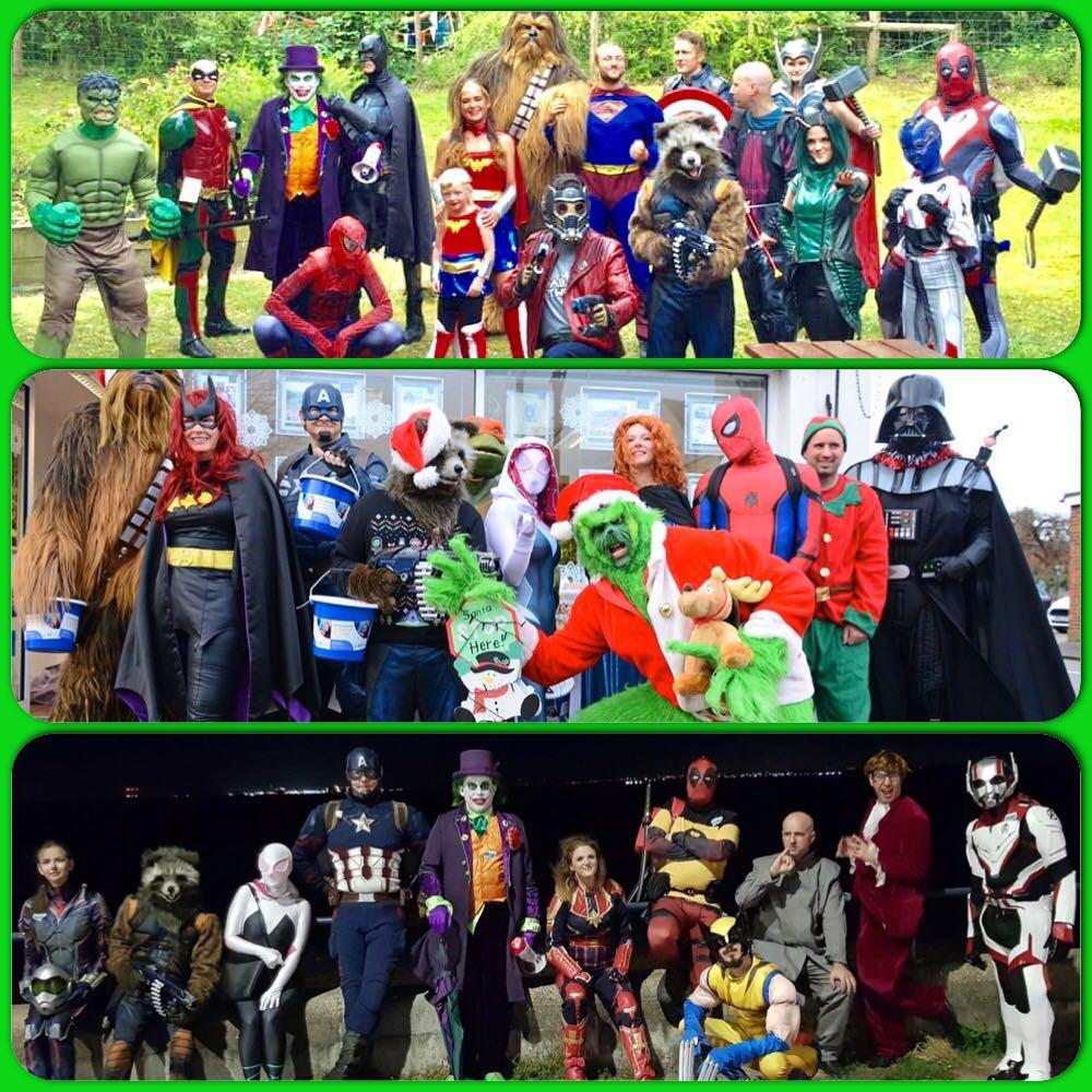 Thundersley Superhero Alliance Costume Club