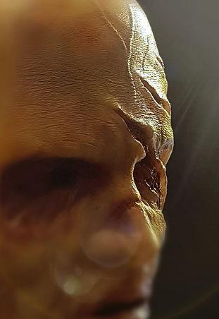 Klawdeen female zombie silicone mask UK
