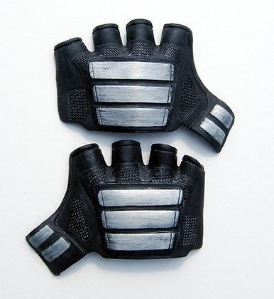 Deadpool hand plates pair