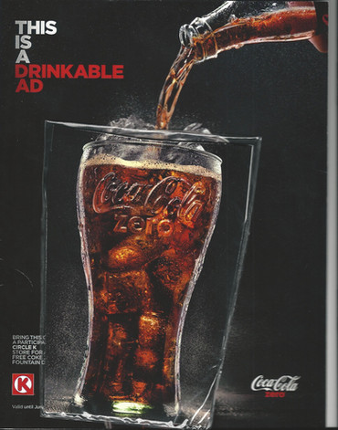 Coca Cola Insert in The Nation