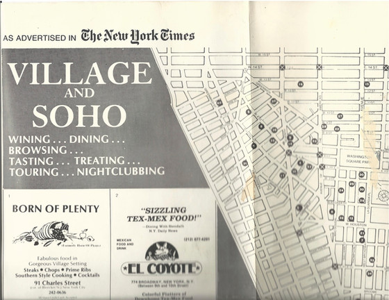 The New York Times' esRestaurant Map Pag