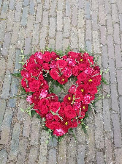 Rouwstuk hart