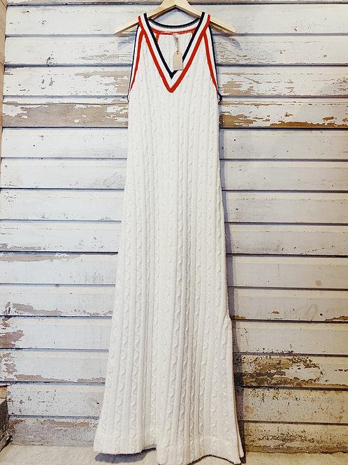 c. 1960's Cable Knit Maxi [M/L]