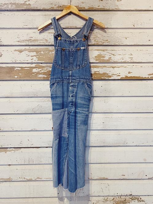c.1970s Lee Overall Dress [XS/S]