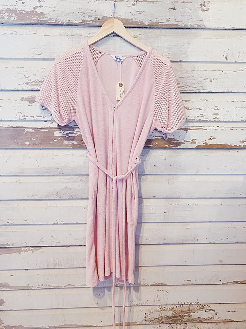 c.1970s  Cotton Candy Terry Dress [M]