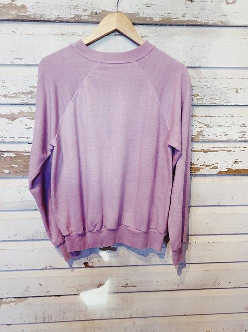 c.1980s Blank Lilac Raglan [M]